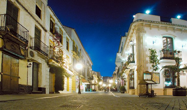 Car rental in Marbella, Old Quarter, Spain