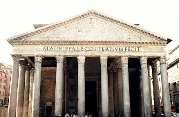 Car rental in Rome, Pantheon, Italy