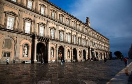 Car rental in Naples, Royal Palace, Italy
