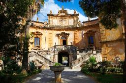 Car rental in Palermo, Villa Palagonia, Italy