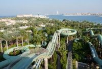 Car rental in Dubai, Aquaventure Aquapark, UAE