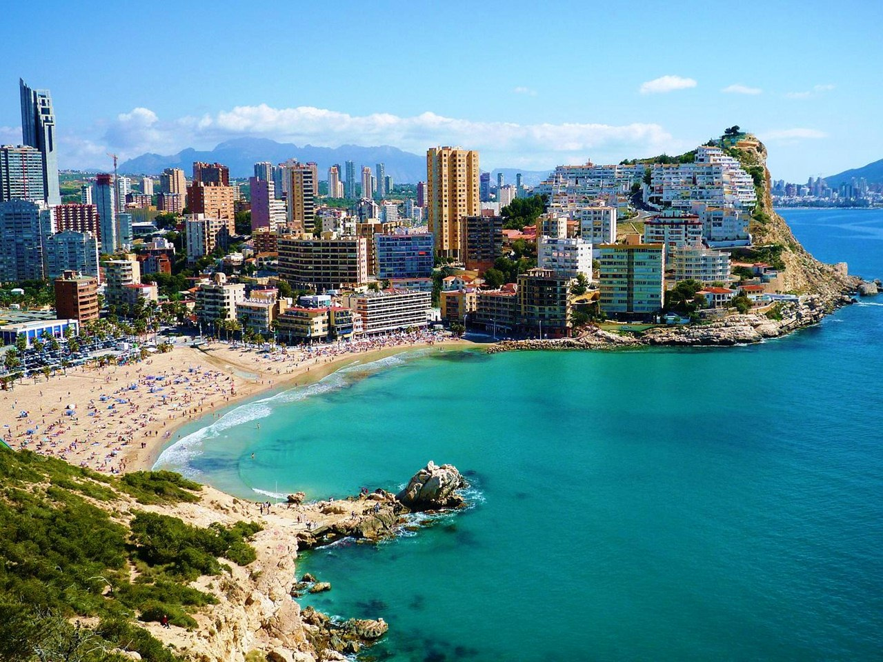 Car rental in Benidorm, Spain