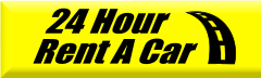 24 Hour car rental at Los Angeles, USA