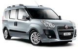 Fiat Doblo car rental at Athens Airport, Greece