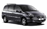 Peugeot 807 car rental at Athens Airport, Greece