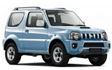 Suzuki Jimny car rental at Athens Airport, Greece