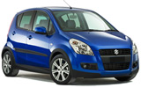 Suzuki Splash car rental at Athens Airport, Greece