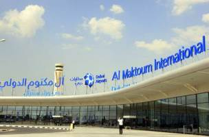 Car rental at Al Maktoum Airport, UAE