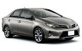 Toyota Camry car rental at Al Maktoum Airport, UAE