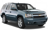 Chevrolet Tahoe car rental at Al Maktoum Airport, UAE
