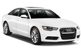 Audi A6 car rental at Al Maktoum Airport, UAE