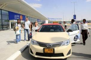 Car rental at Al Maktoum, UAE
