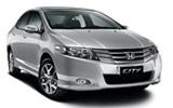 Honda City car rental at Al Maktoum Airport, UAE