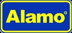 Alamo car rental at Edinburgh, UK
