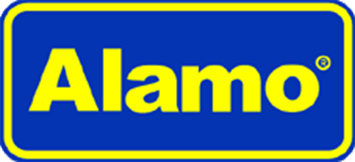 Alamo car rental at Athens Airport, Greece