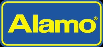 Alamo car rental at Calgary Airport, Canada