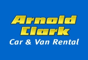 Arnold Clark car rental at Glasgow, UK