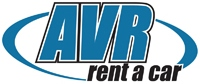 AVR car rental at Los Angeles