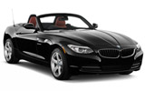 BMW Z4 Convertible car rental at Bangkok - Suvarnabhumi Airport, Thailand