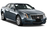 Cadillac CTS car rental at Tampa Airport, USA