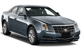 Cadillac CTS car rental at Toronto Airport, Canada