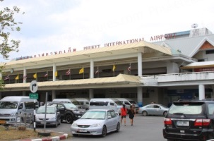Car rental at Phuket Airport, Thailand