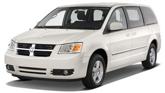 Dodge Caravan car rental at Cape town Airport, South Africa