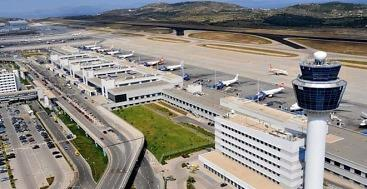Car rental at Athens Airport, Greece