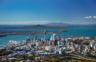 Car rental at Auckland Airport, New Zealand
