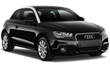 Audi A1 car rental at Bari, Italy
