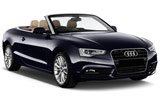 Audi A5 Convertible car rental at Hobart, Australia