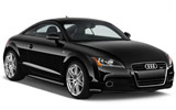 Audi TT Coupe car rental at Glasgow, UK