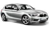 BMW 1 Series car rental at Faro, Portugal