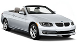 BMW 3 Series Convertible car rental at Bilbao, Spain