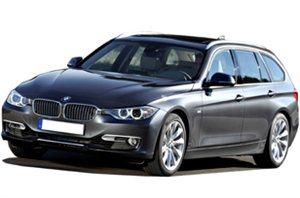 BMW 3 Series Estate car rental at Helsinki, Finland