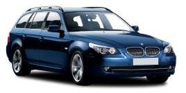 BMW 5 Series car rental at Girona, Spain