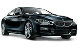 BMW 640i Gran Coupe car rental at Glasgow, UK