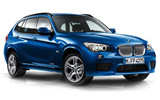 BMW X1 car rental at Barcelona, Spain