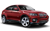 BMW X6 car rental at Heathrow, UK