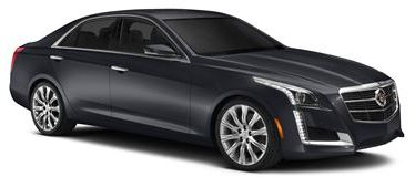 Cadillac CTS car rental at Hilo, Hawaii