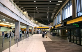 Car rental at Calgary Airport, Canada