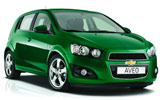 Chevy Aveo car rental at Bristol, UK