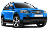 Chevrolet Captiva car rental at Dusseldorf, Germany