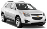 Chevy Equinox car rental at Miami Airport, USA