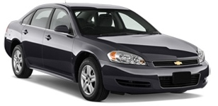 Chevrolet Impala LS car rental at Los Angeles, USA