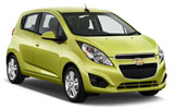 Chevrolet Spark car rental at Los Angeles, USA
