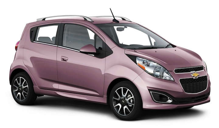 Chevy Spark from Budget, Dubai