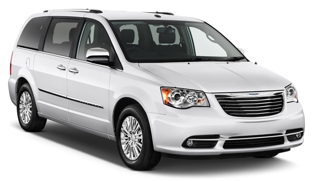 Chrysler Town And Country from Avis, Los Angeles