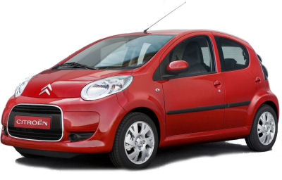 Citroen C1 car rental at Alicante, Spain