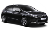 Citroen C4 from Dollar, Comiso, Italy